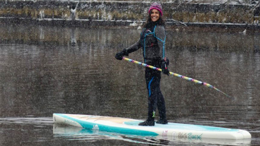 cold weather paddling clothing
